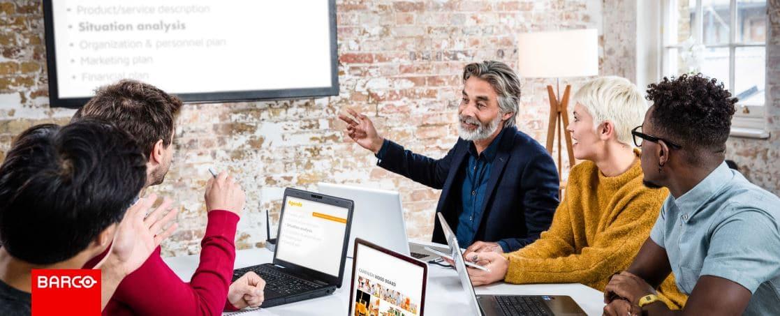 Facilitez le démarrage de vos réunions avec ClickShare de Barco !